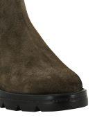 Santoni Nabuk Ankle Boots