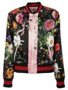 Gucci Floral Print Bomber