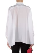 Moschino Wrap-effect Silk Blouse