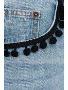 Marc Jacobs Pom Pom Denim Mini Skirt