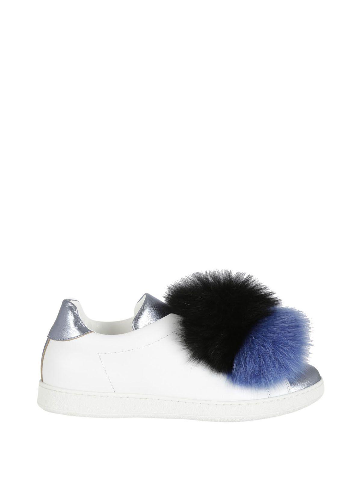 many kinds of online find great for sale Joshua Sanders Pom-Pom Slip-On Sneakers cL9KA