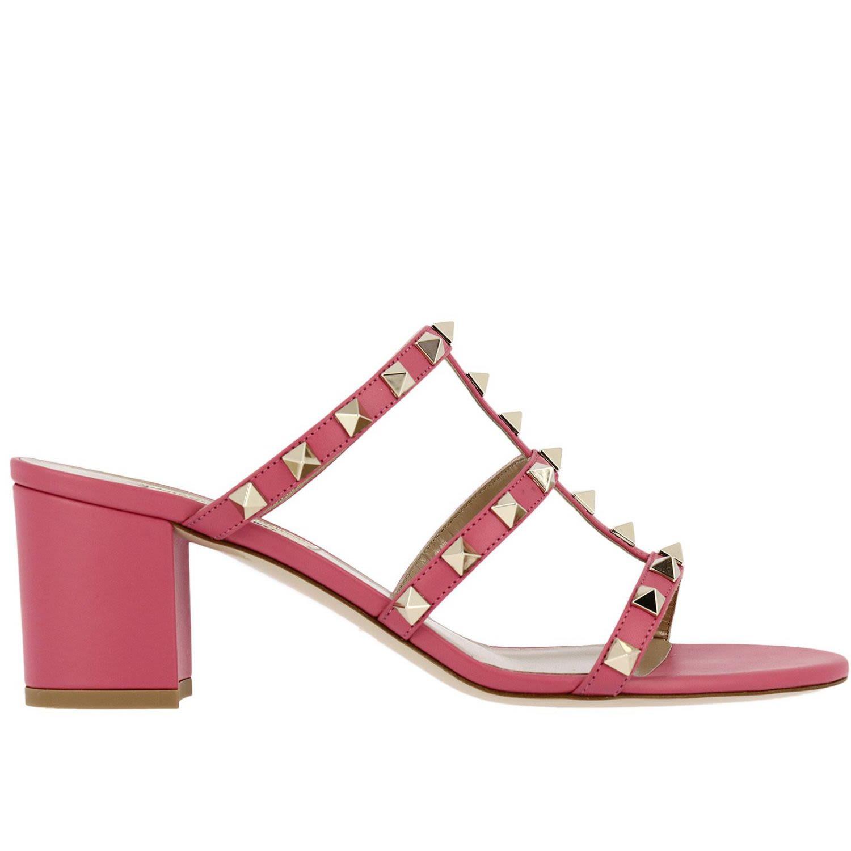 Heeled Sandals Shoes Women Valentino Garavani