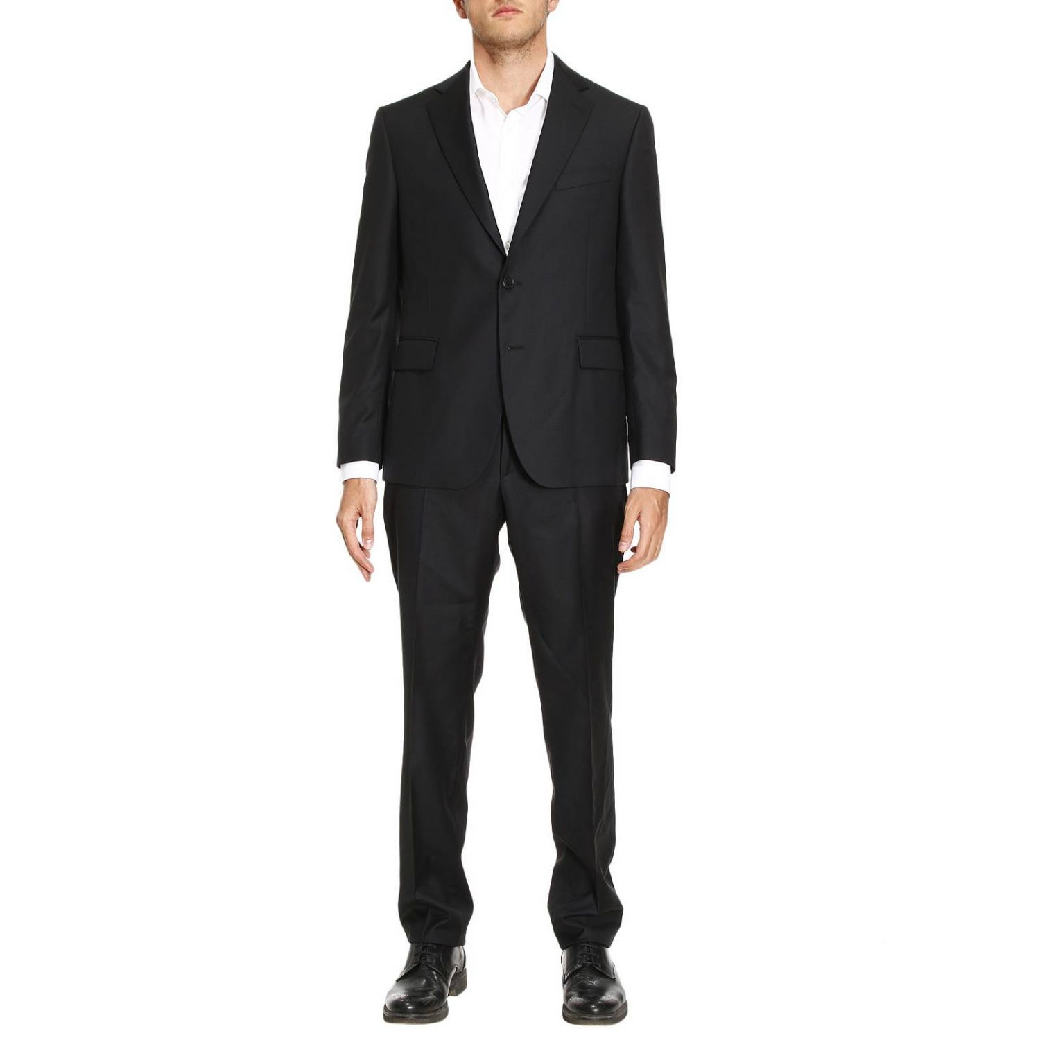Versace - Suit Suit Men Versace - Black, Men's Suits