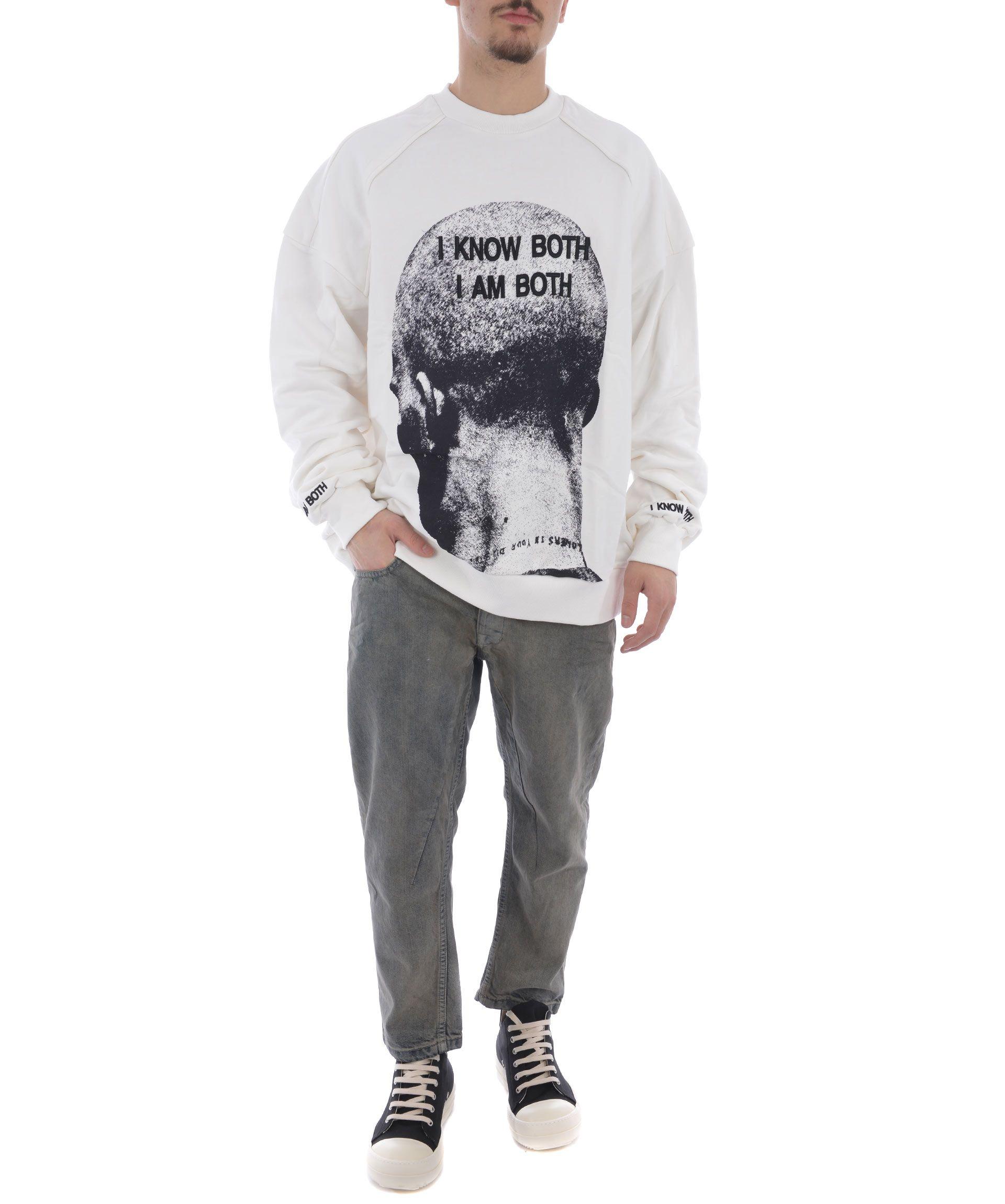Juun.j Printed Front Sweatshirt