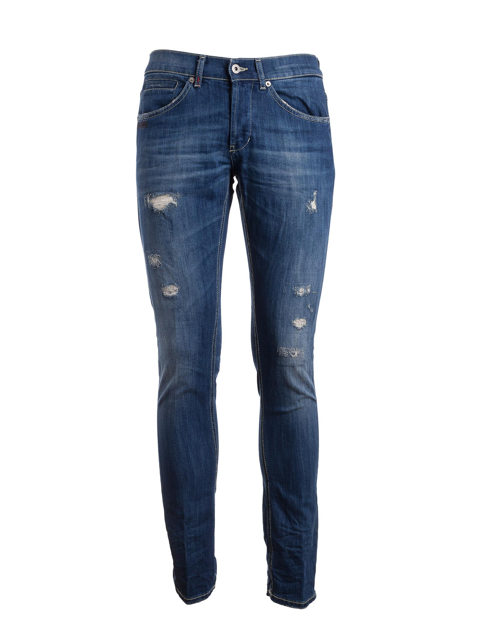 Dondup Classic Ripped Jeans