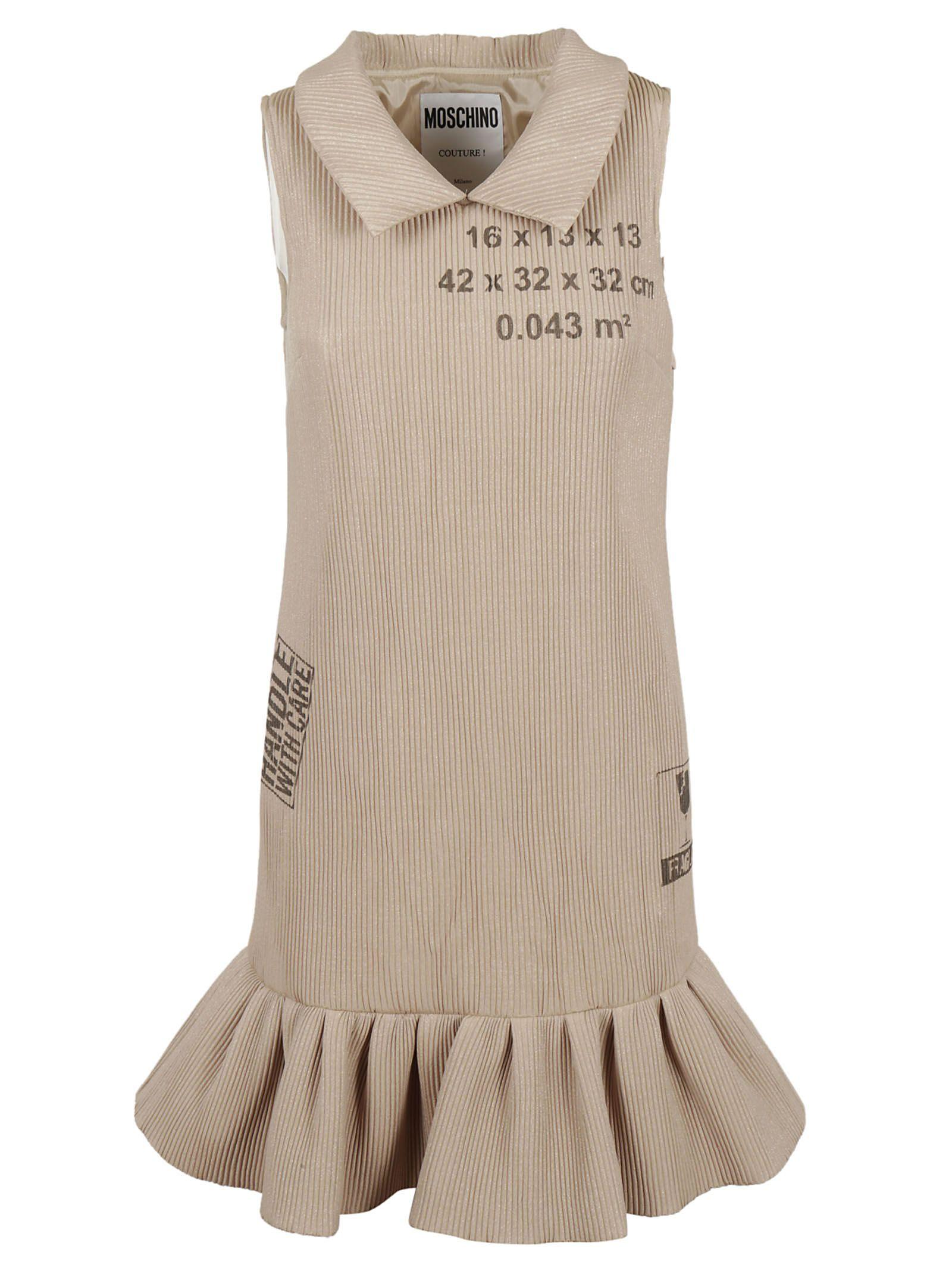 Moschino Ribbed Dress