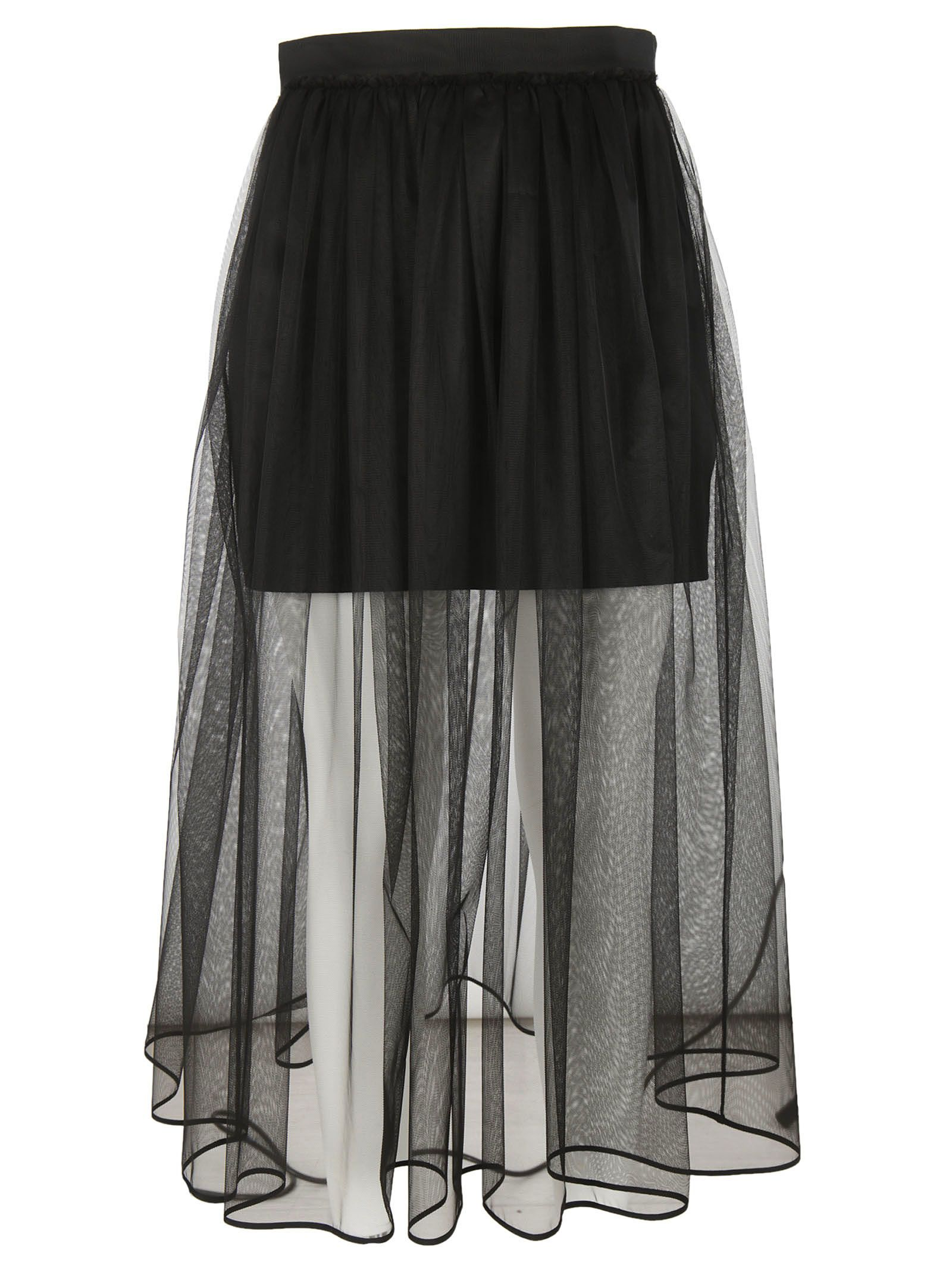 Givenchy Pleated Tulle Skirt