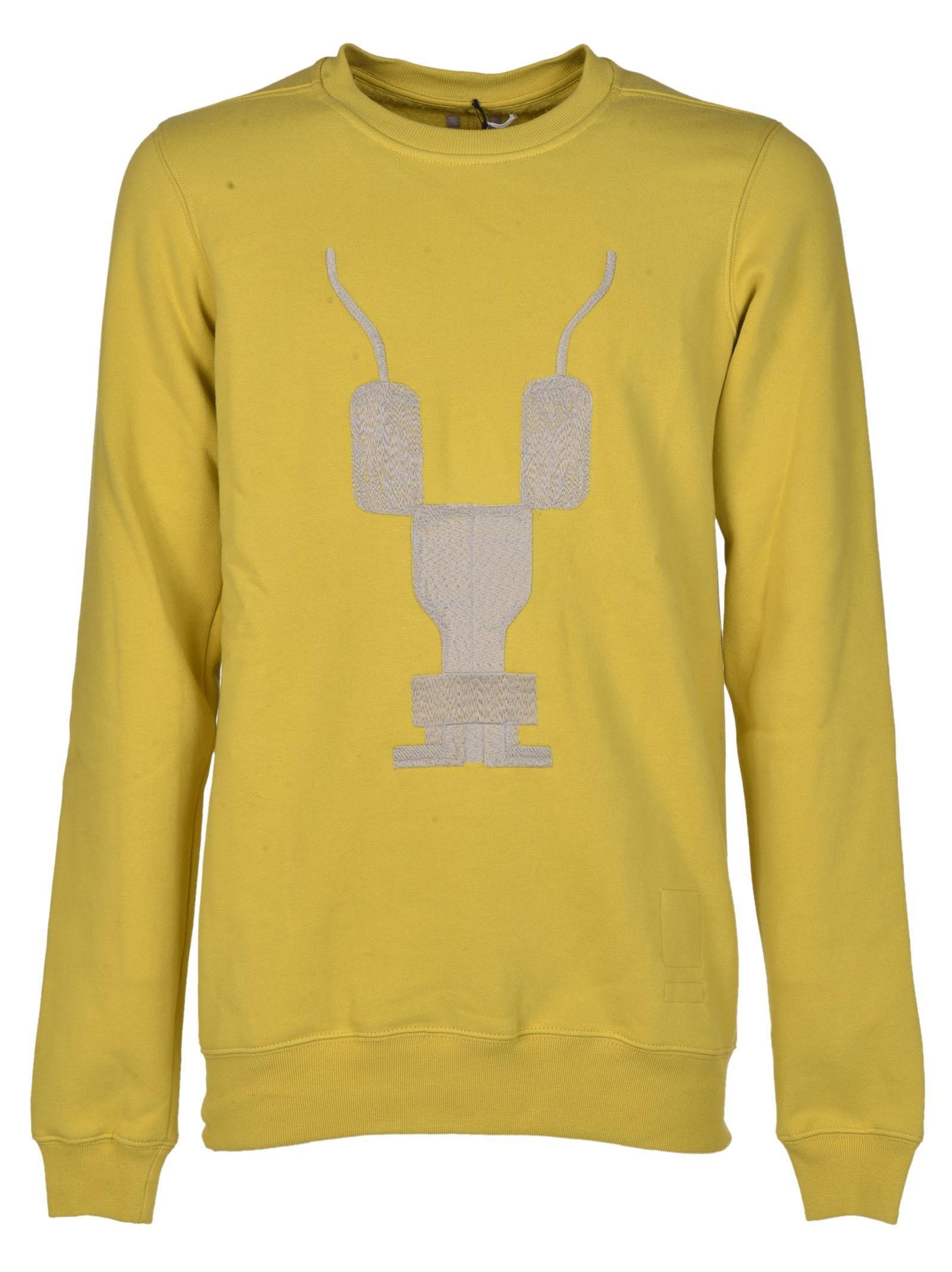 Rick Owens Drkshdw Embroidered Sweatshirt