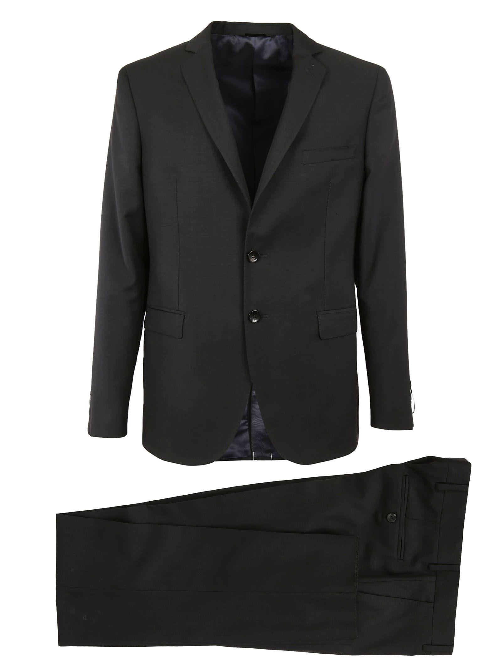 TONELLO Ottoman Suit in Black