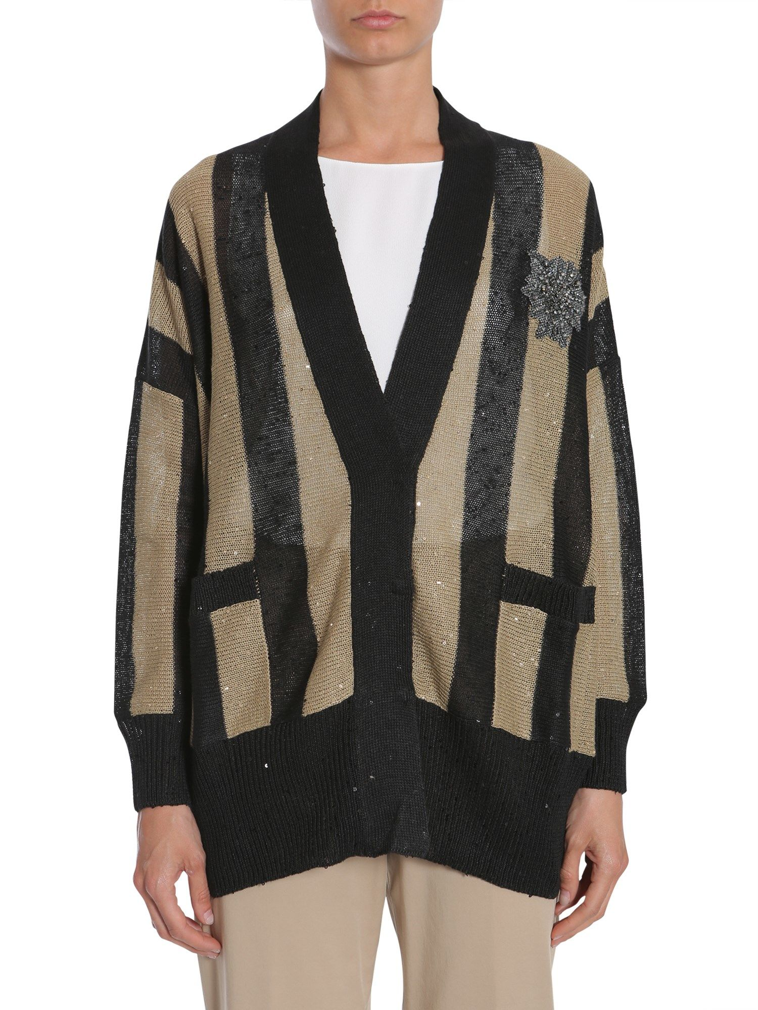 Cricket Stripes Cardigan