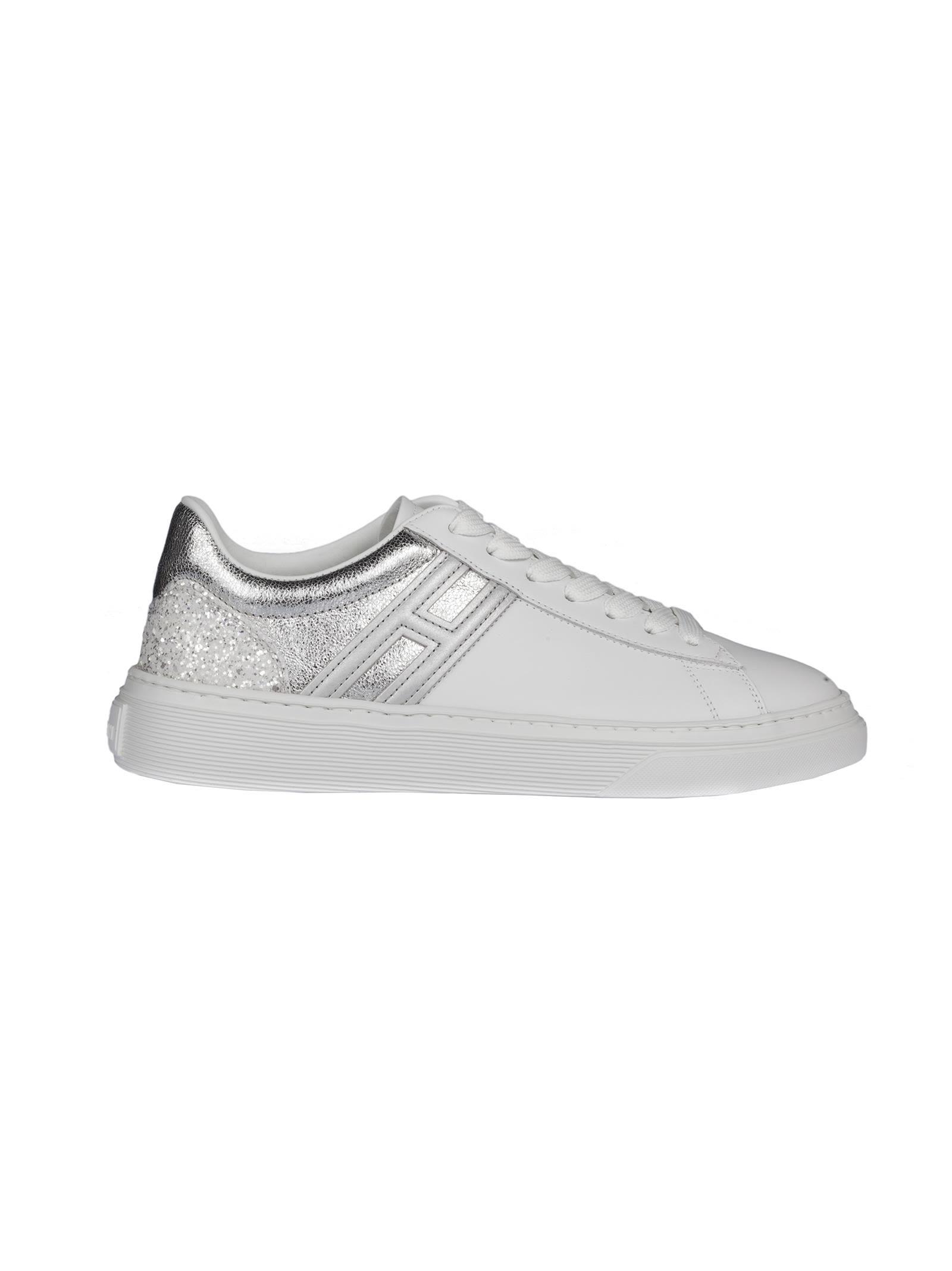 Hogan H365 Contrast Heel Sneakers