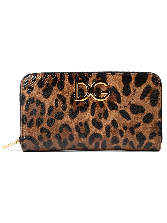 Dolce & Gabbana Dauphine St. leo Zip Around Wallet