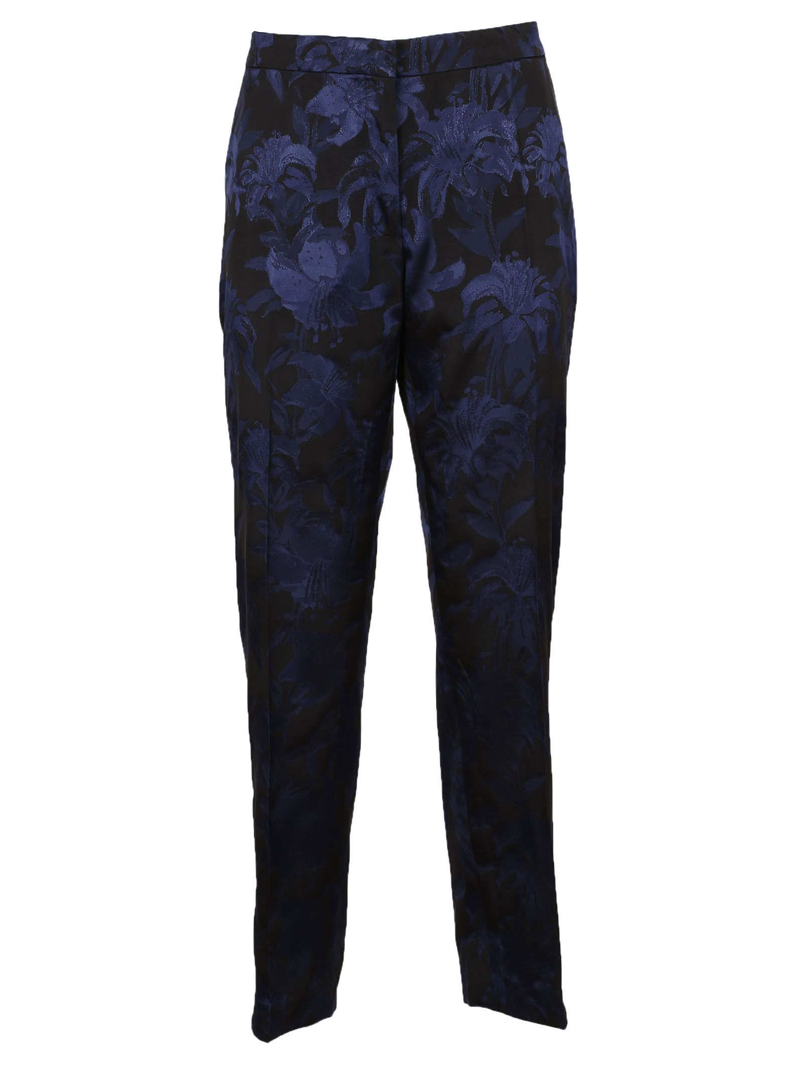 Dries Van Noten Floral Patterned Trousers