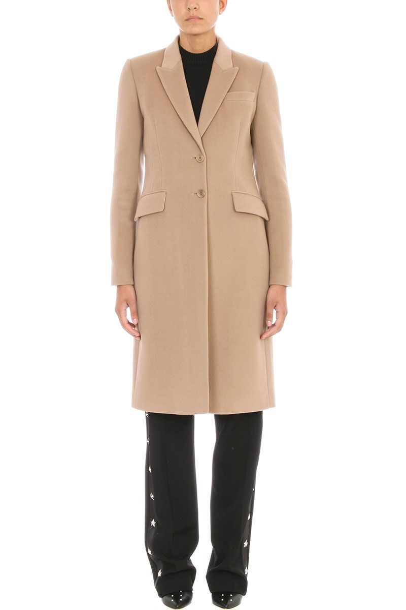 Givenchy Beige Camel Coat