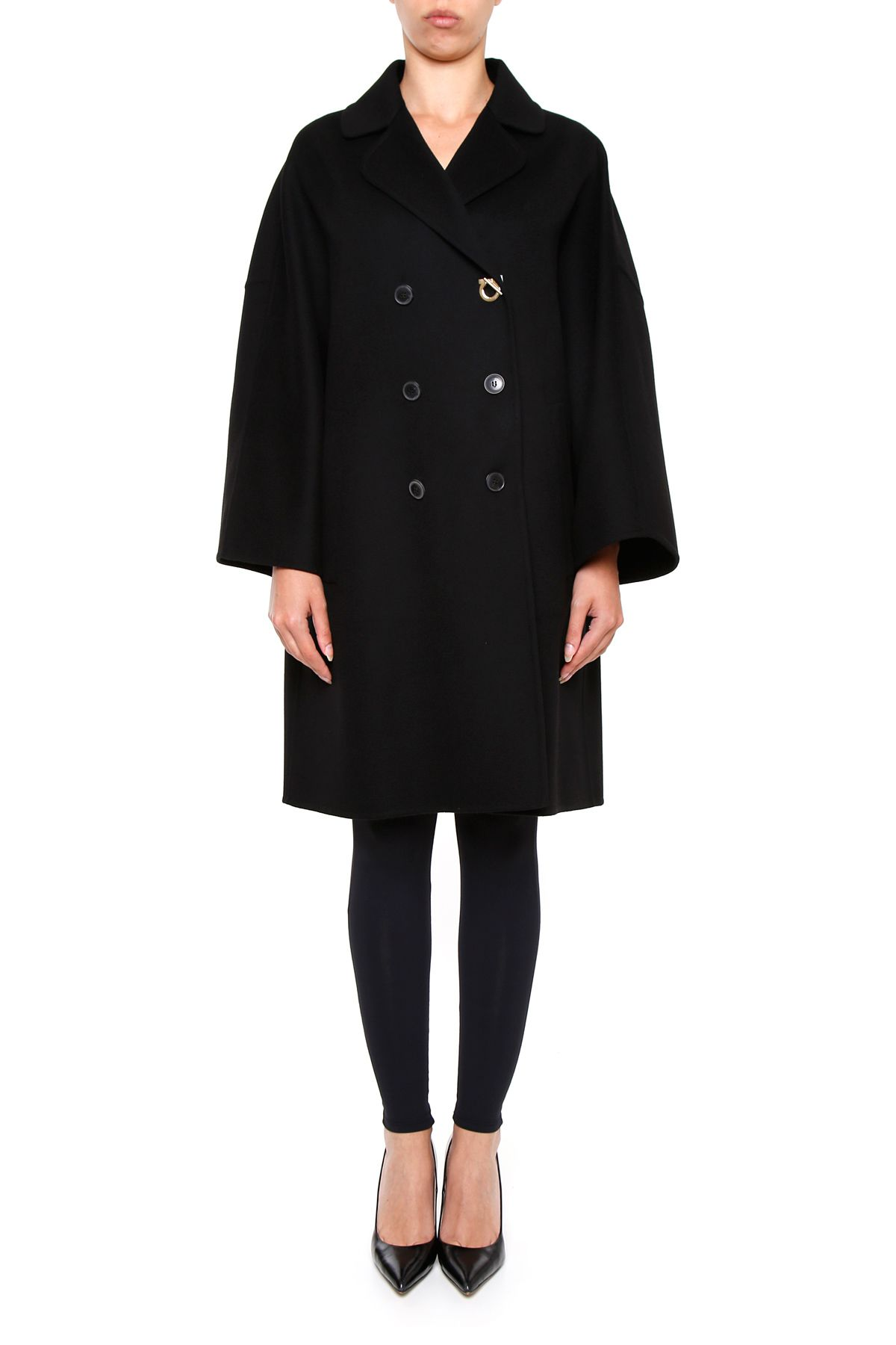 Pure Wool And Cashmere Coat