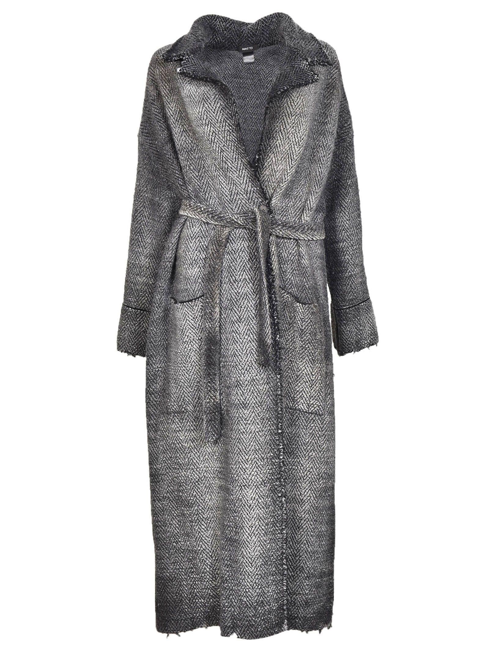 Avant Toi Belted Coat