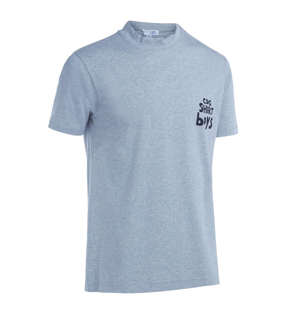 Comme Des Garçons Shirt Boys Grey Melange T-shirt