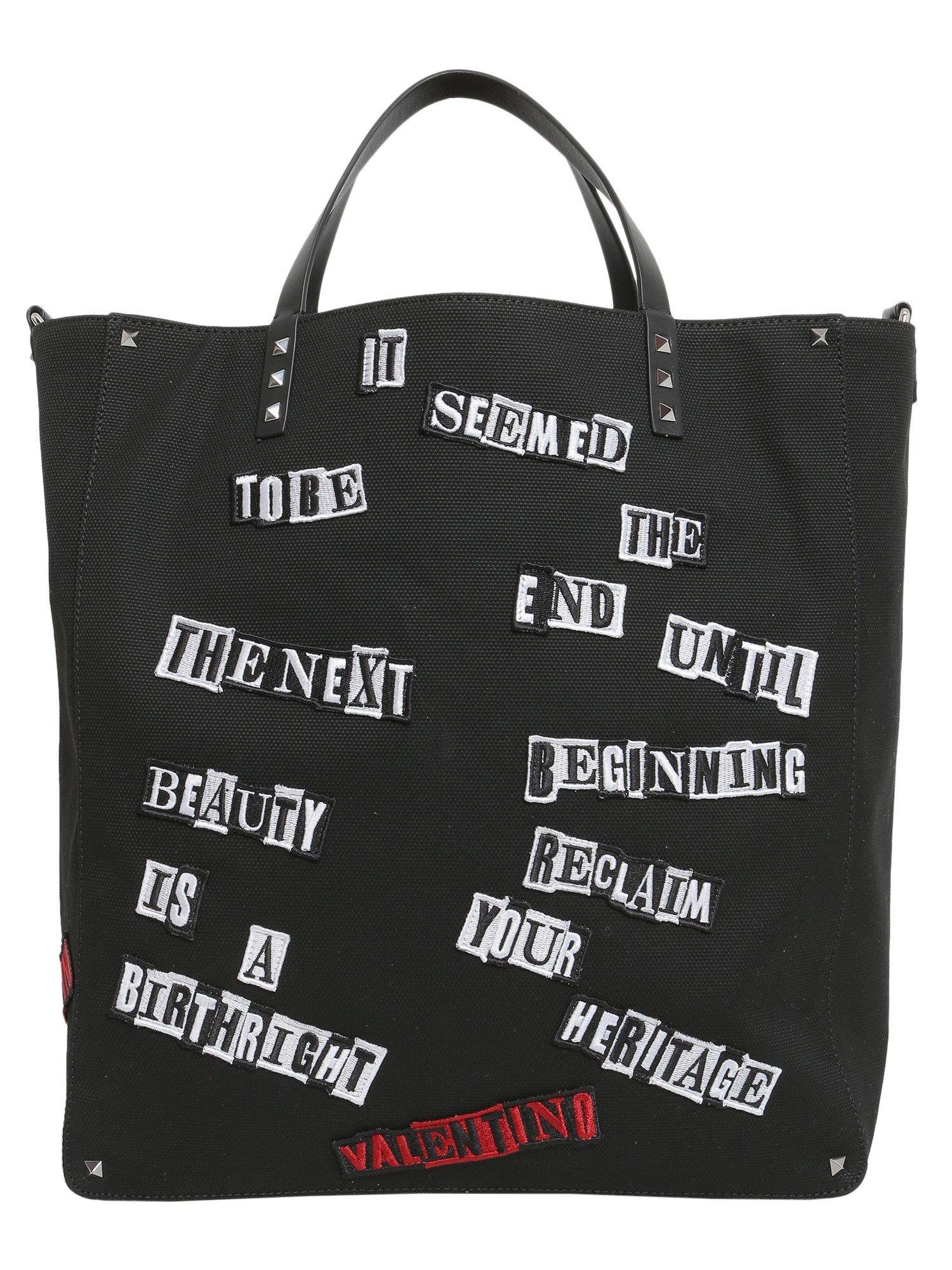 Punk Poem Shopping Bag