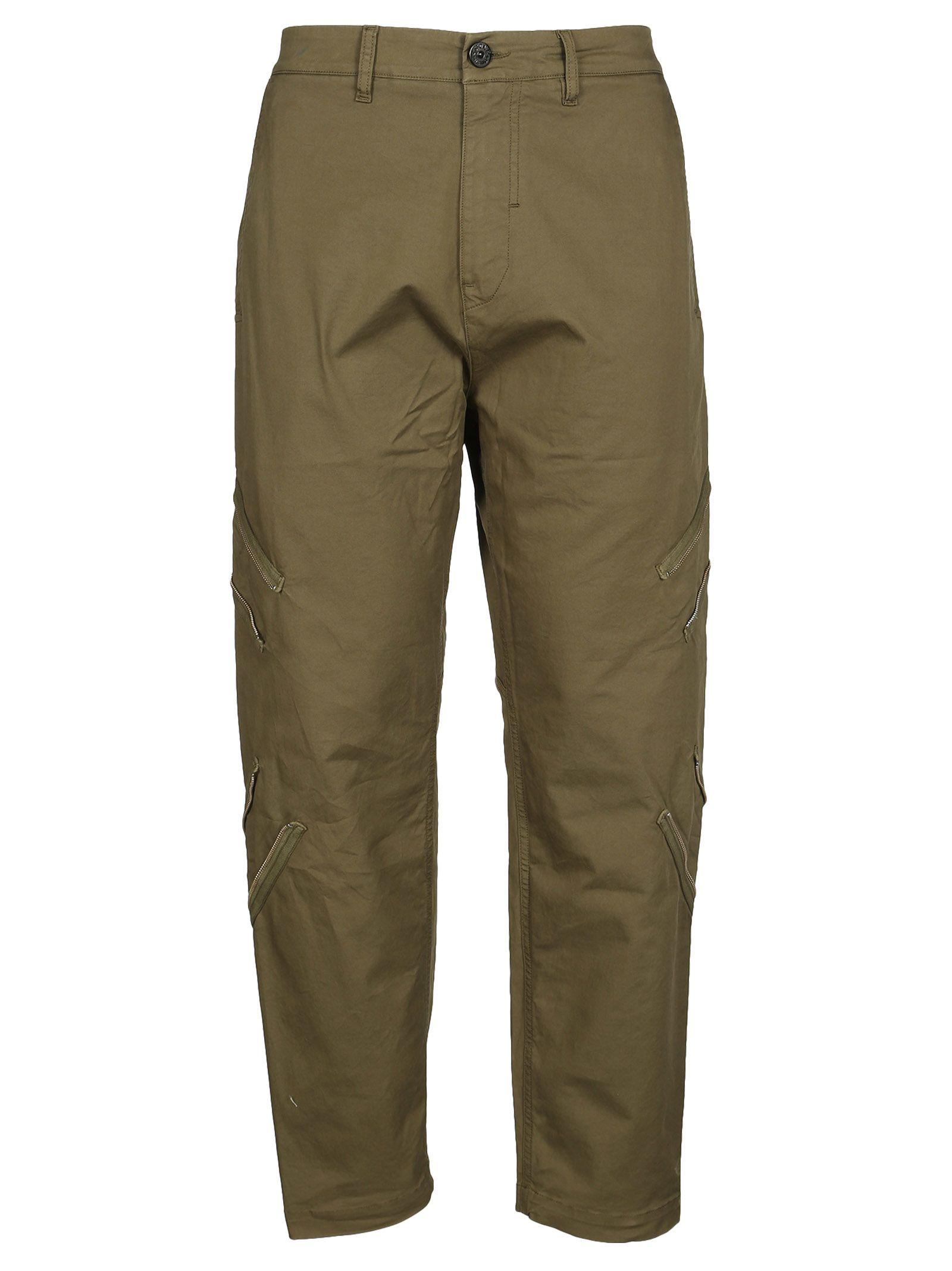 Stone Island Shadow Project Drop Crotch Cargo Trousers