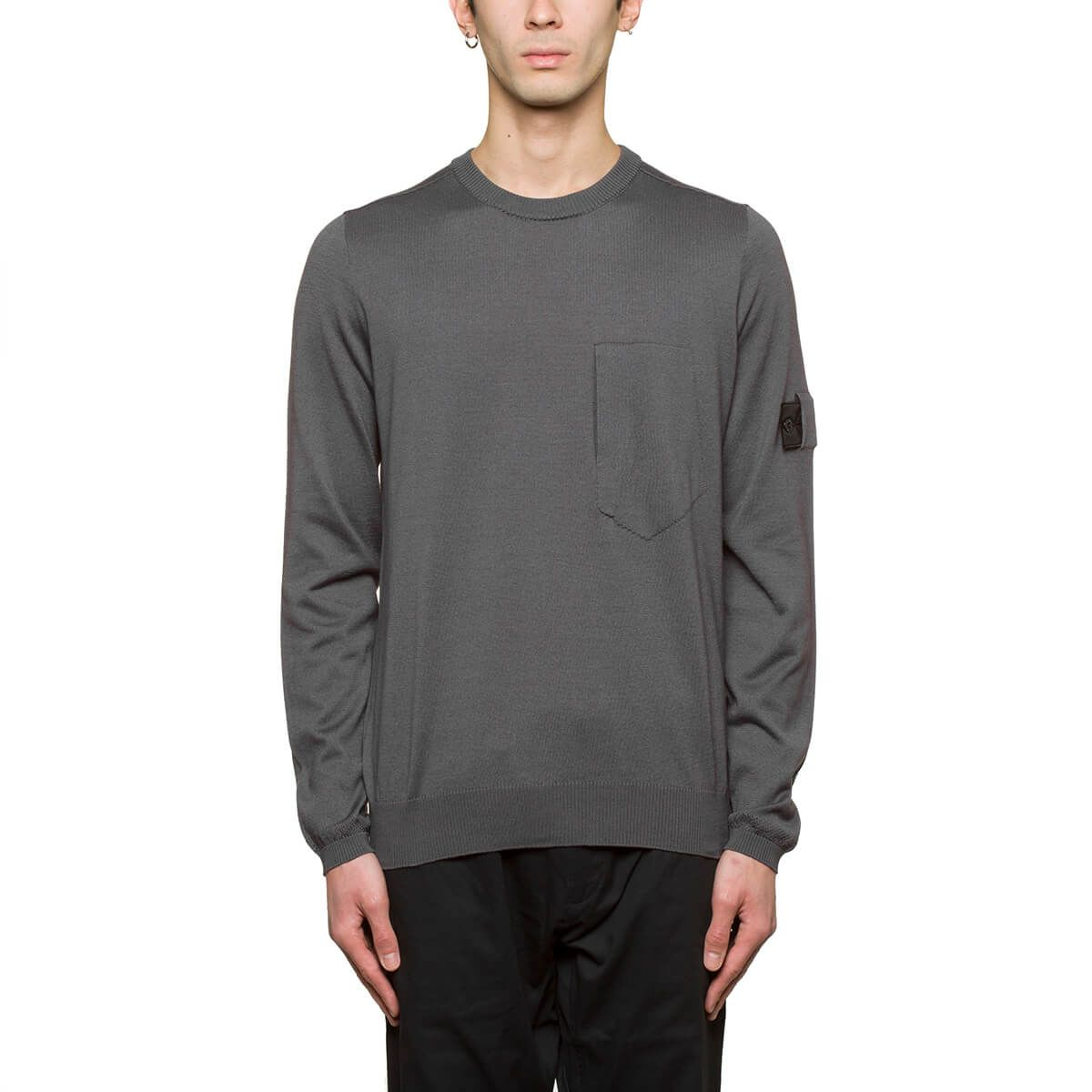 Stone Island Shadow Project Knitted Ls Tee