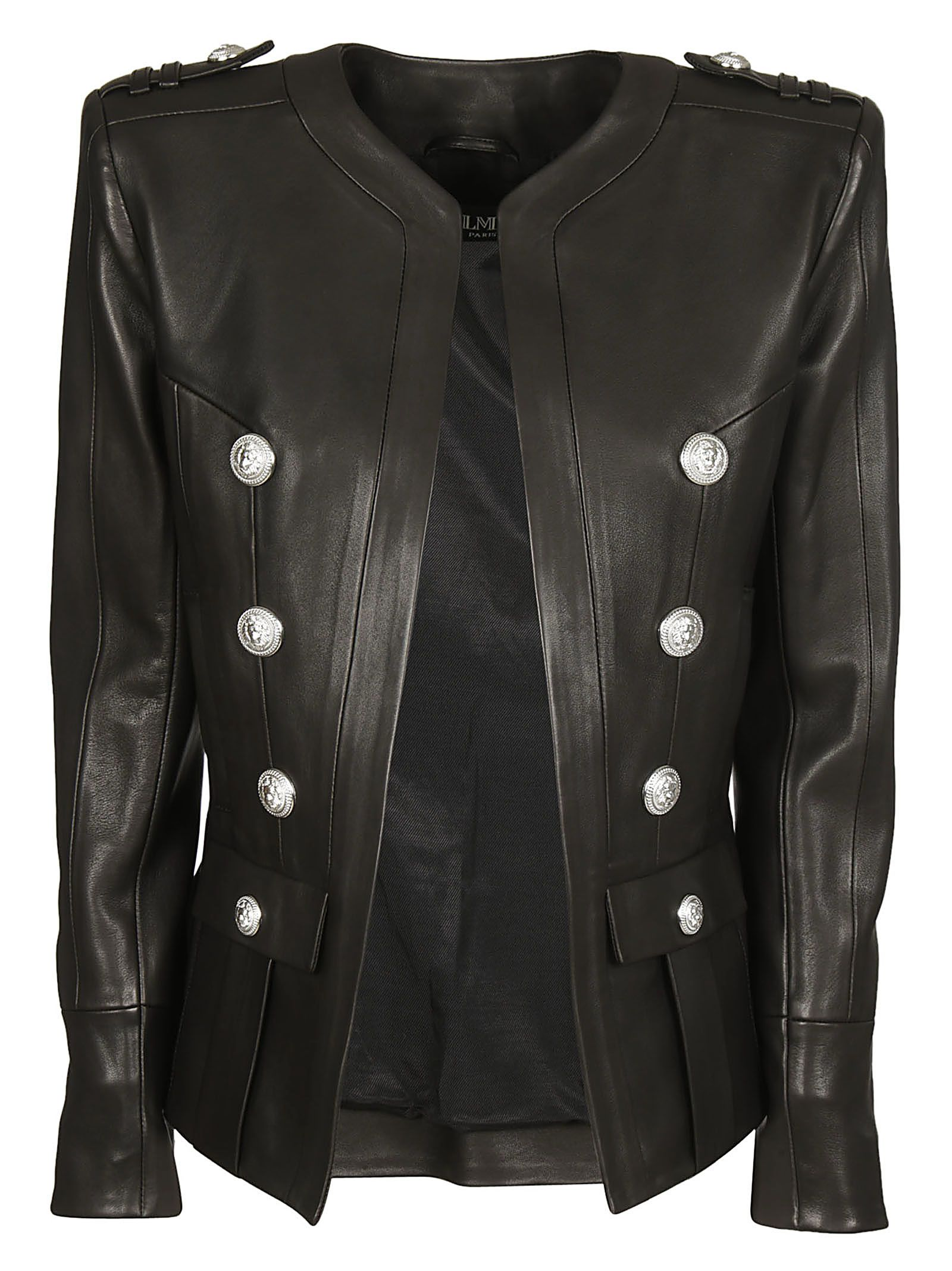 Balmain Classic Leather Jacket