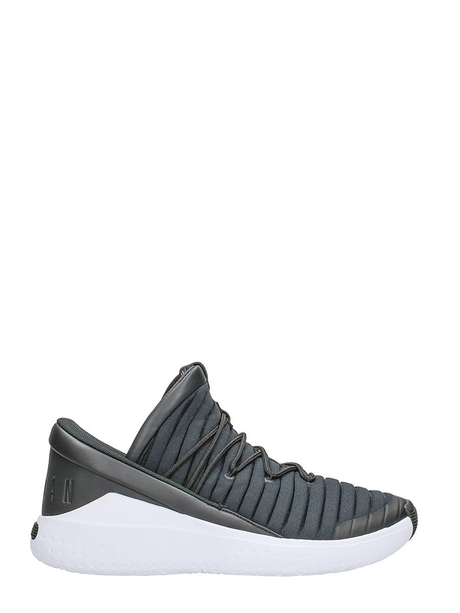 Nike Jordan Fight Luxe Black Fabric Sneakers