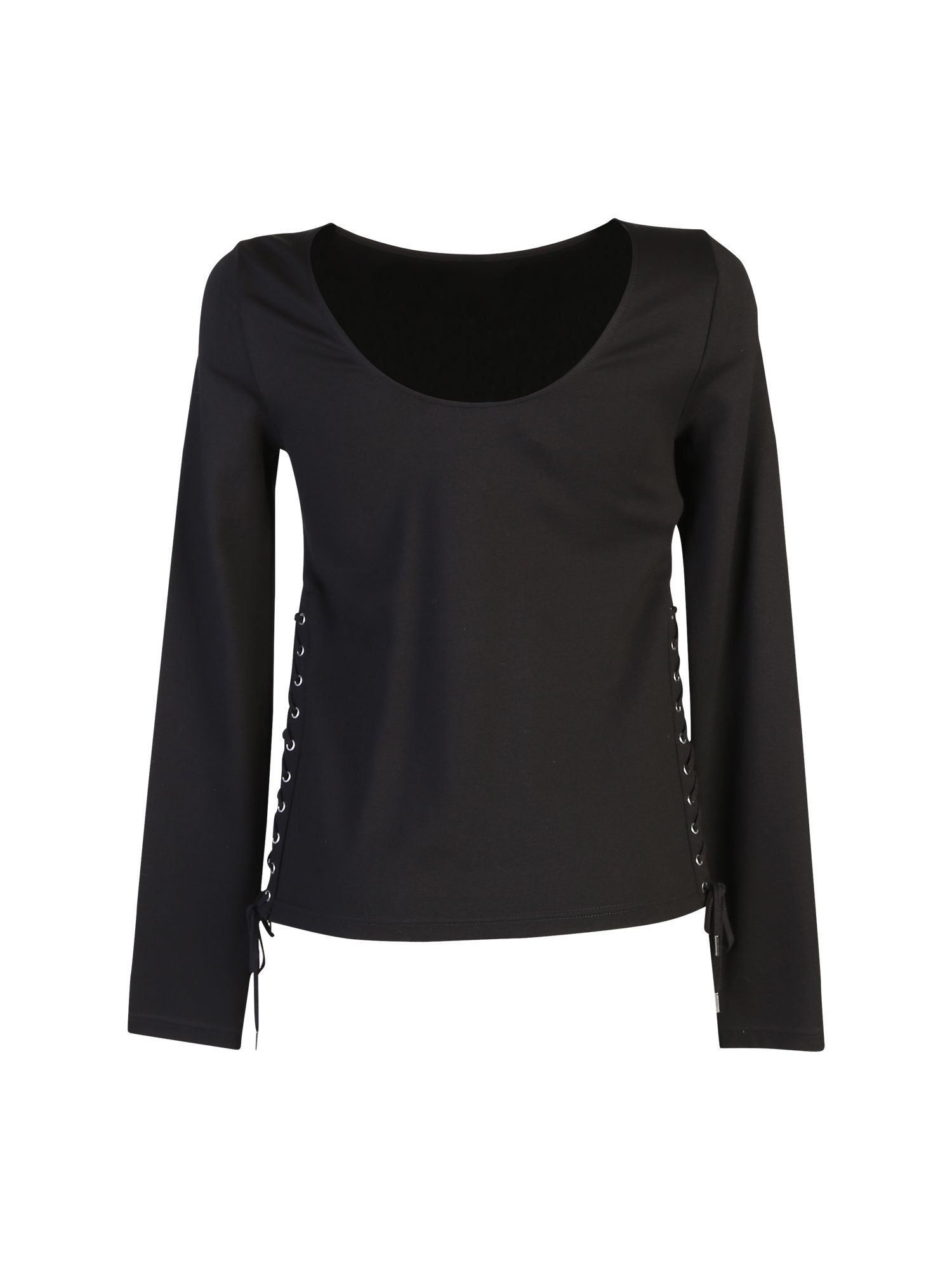 Laceup Long Sleeve Top