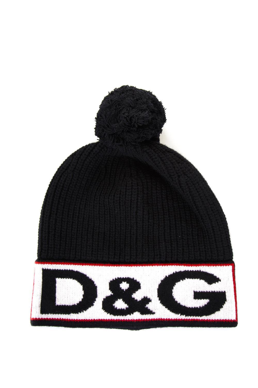 Dolce & Gabbana Beanie Hat With D & G Logo
