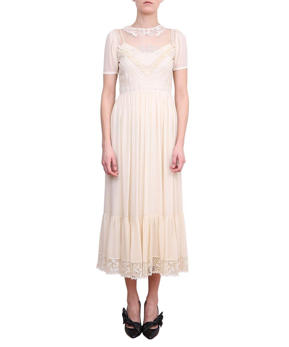 RED Valentino Silk Georgette Dress