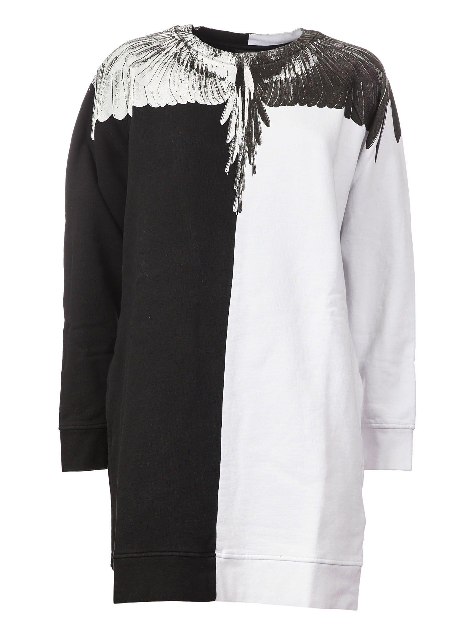 Marcelo Burlon Sweatshirt Dress