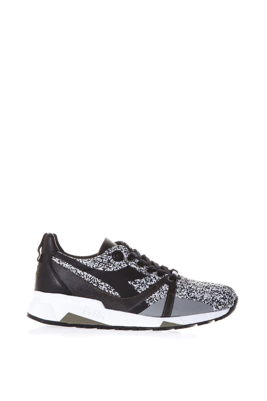 Diadora Heritage Black Heritage Shoes In Nylon