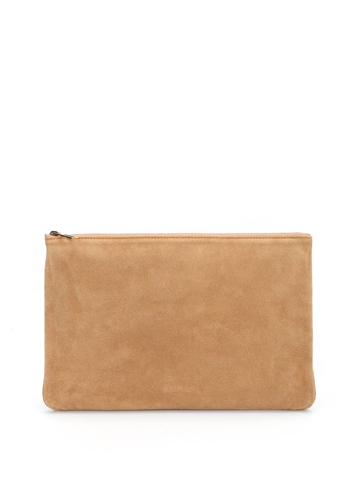 Suede Handbag Pochette