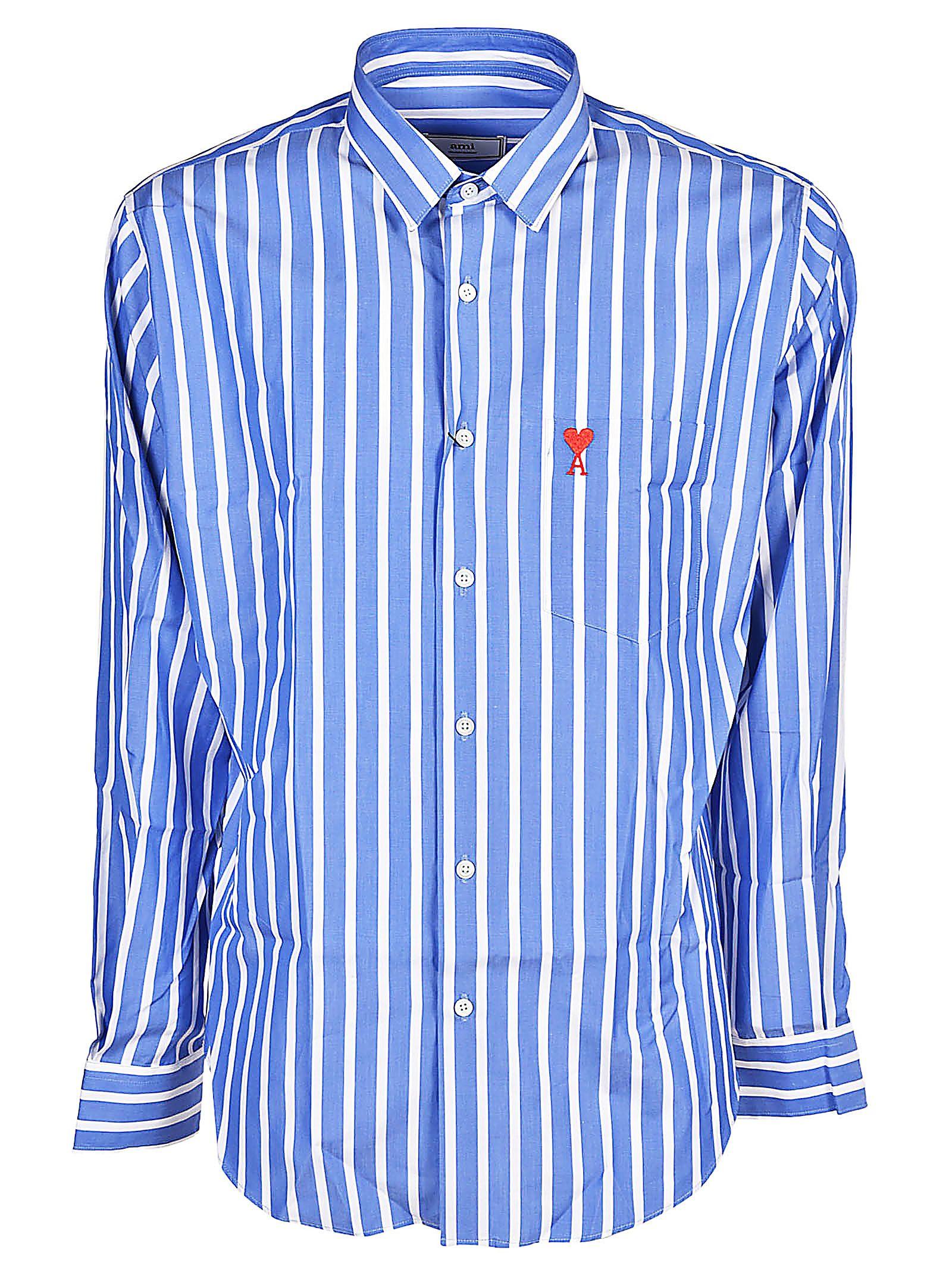 Ami Alexandre Mattiussi Striped Shirt