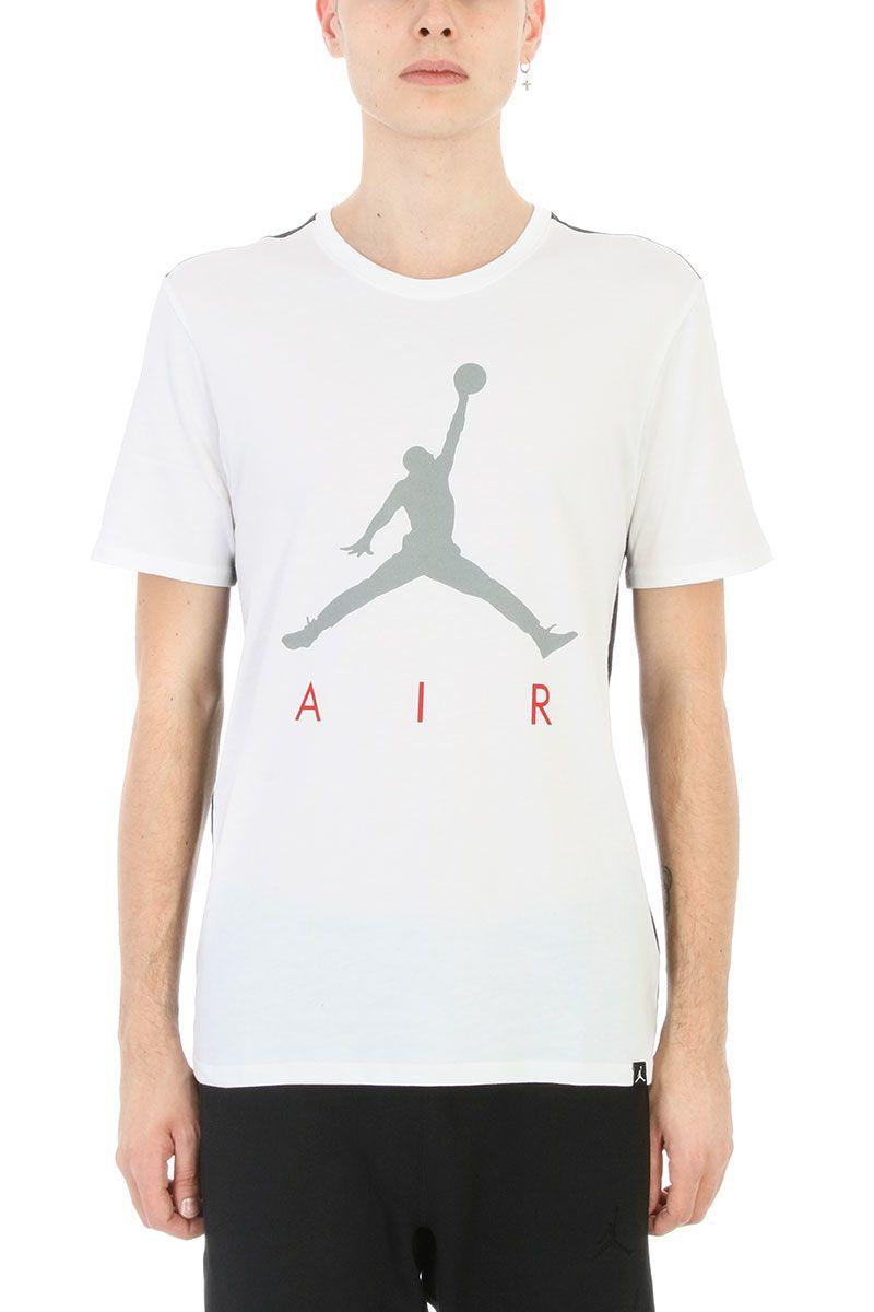Nike Jumpban White Cotton T-shirt