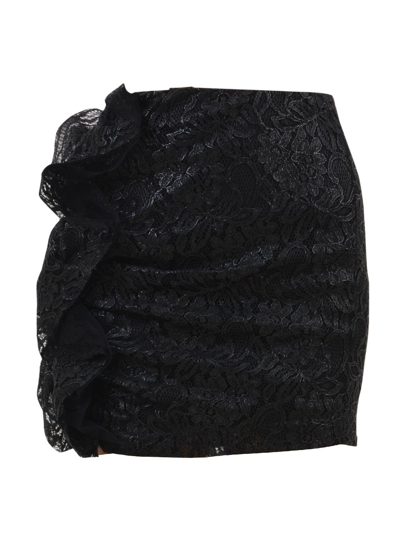MSGM Mini Lace Skirt
