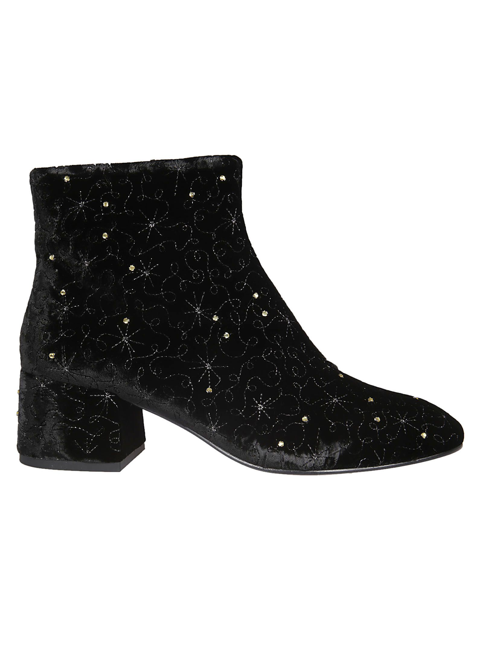Ash Diamond Bis Embellished Boots