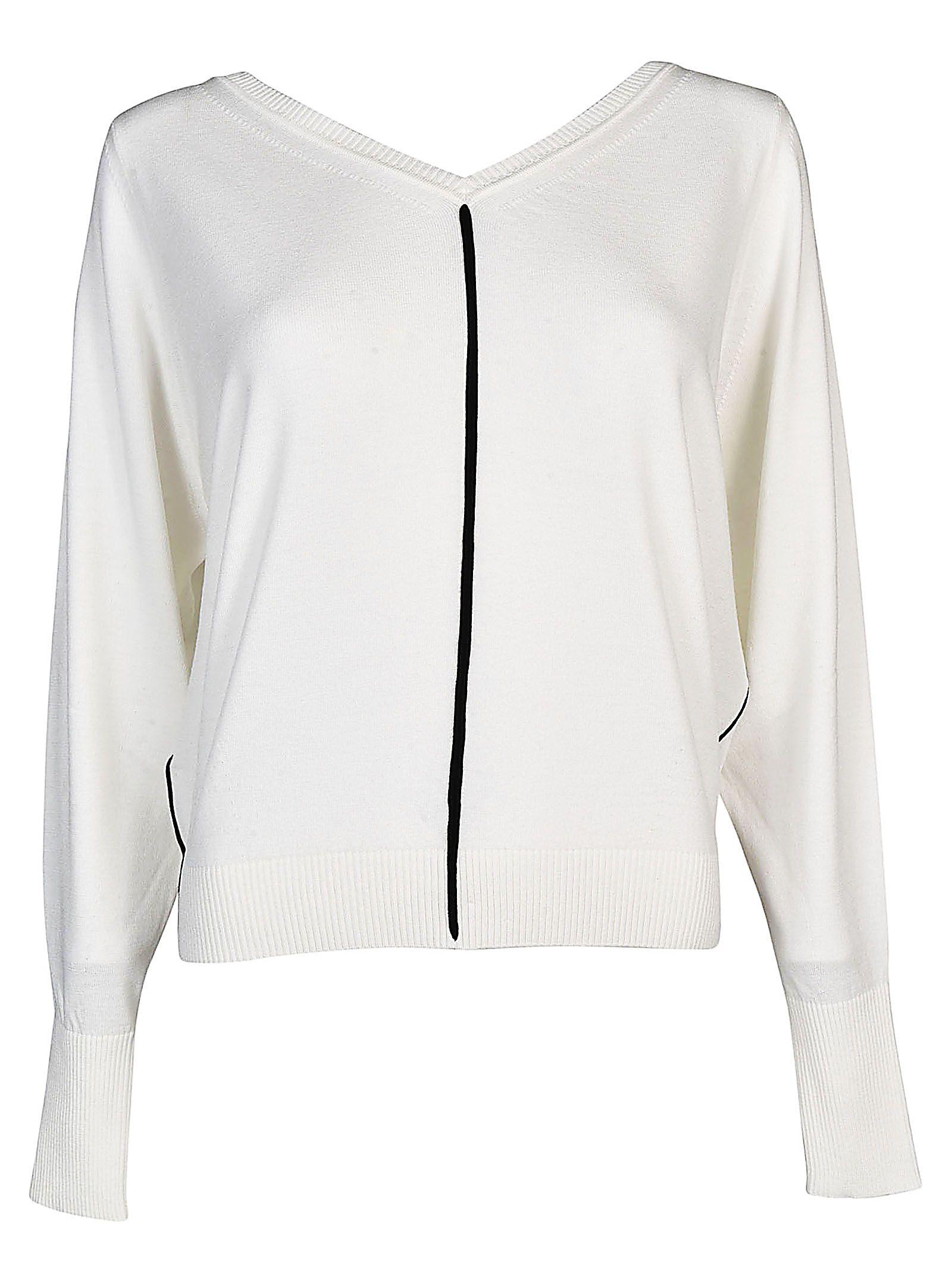 SportMax Code V-neck Sweater