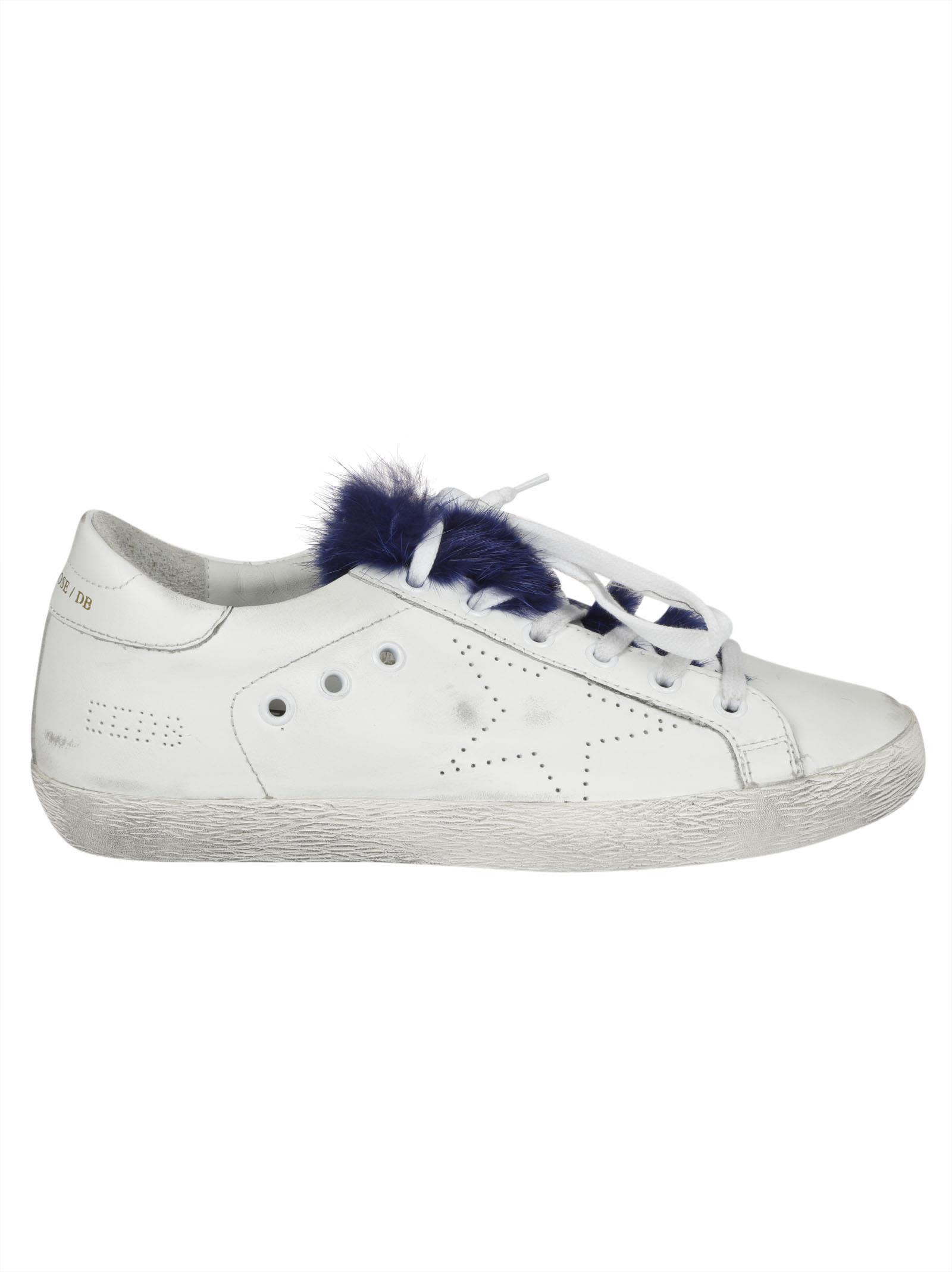 Golden Goose Deluxe Brand Superstar Fur Sneakers