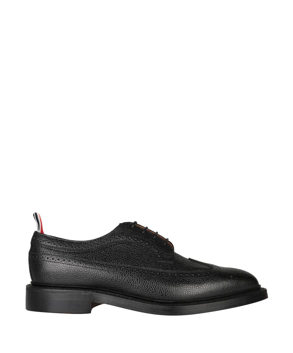 Thom Browne Pebbled Grain Leather Derby Shoes