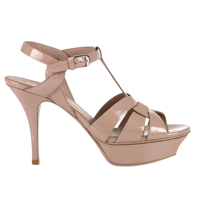 Heeled Sandals Shoes Women Saint Laurent
