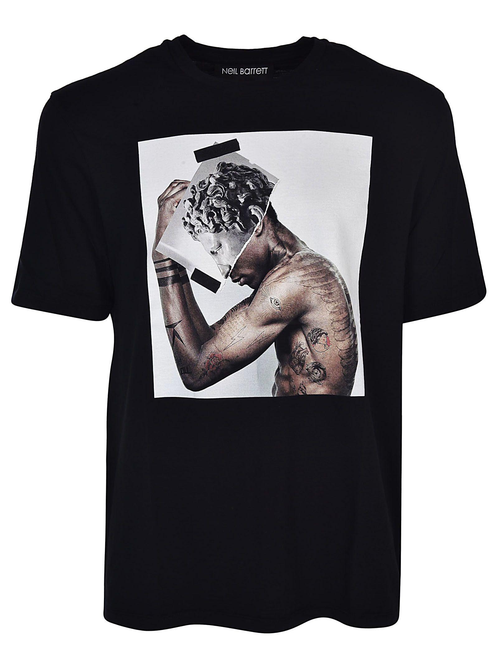 Neil Barrett Graphic Print T-shirt