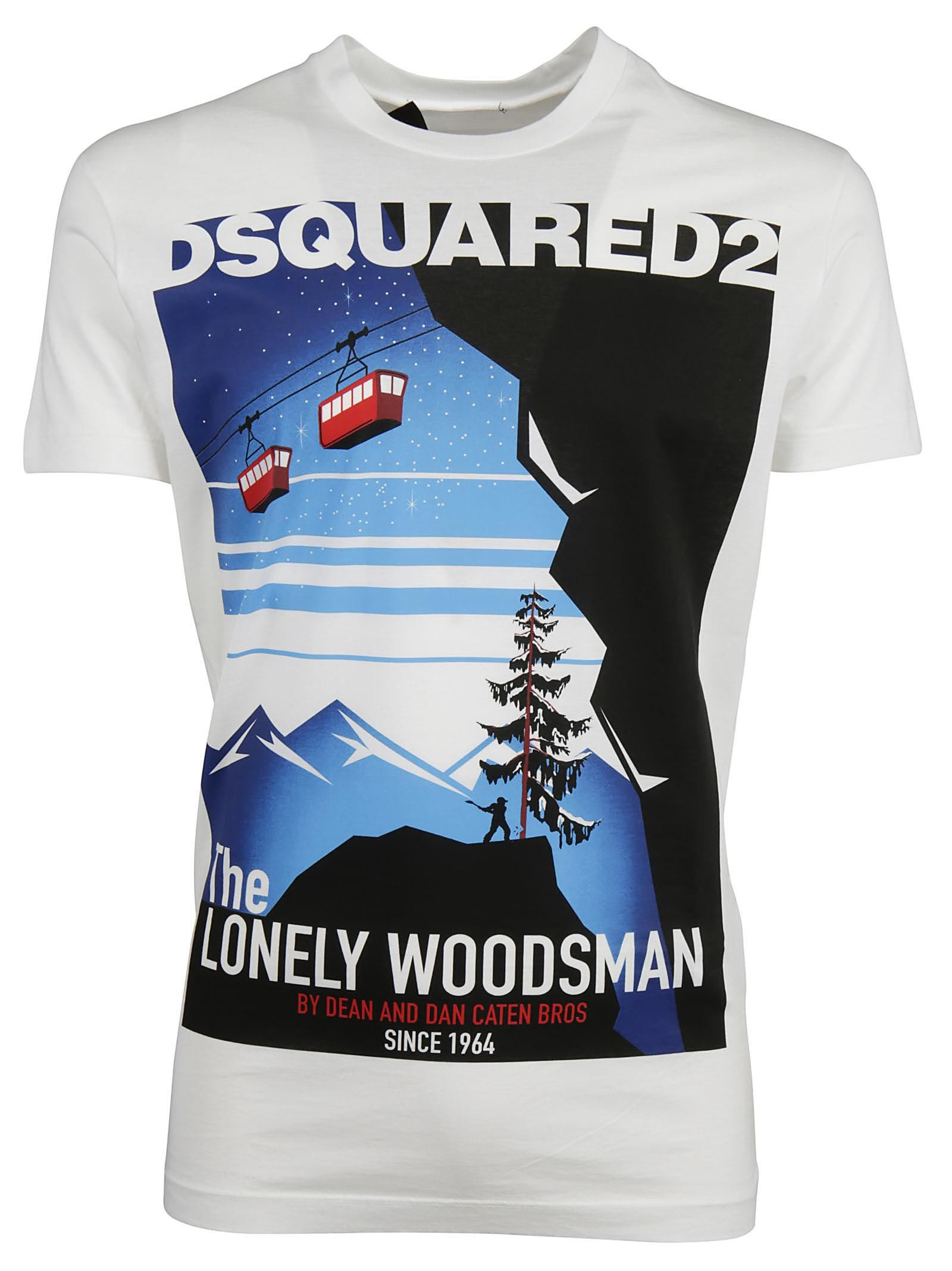 Dsquared2 Lonely Woodsman T-shirt
