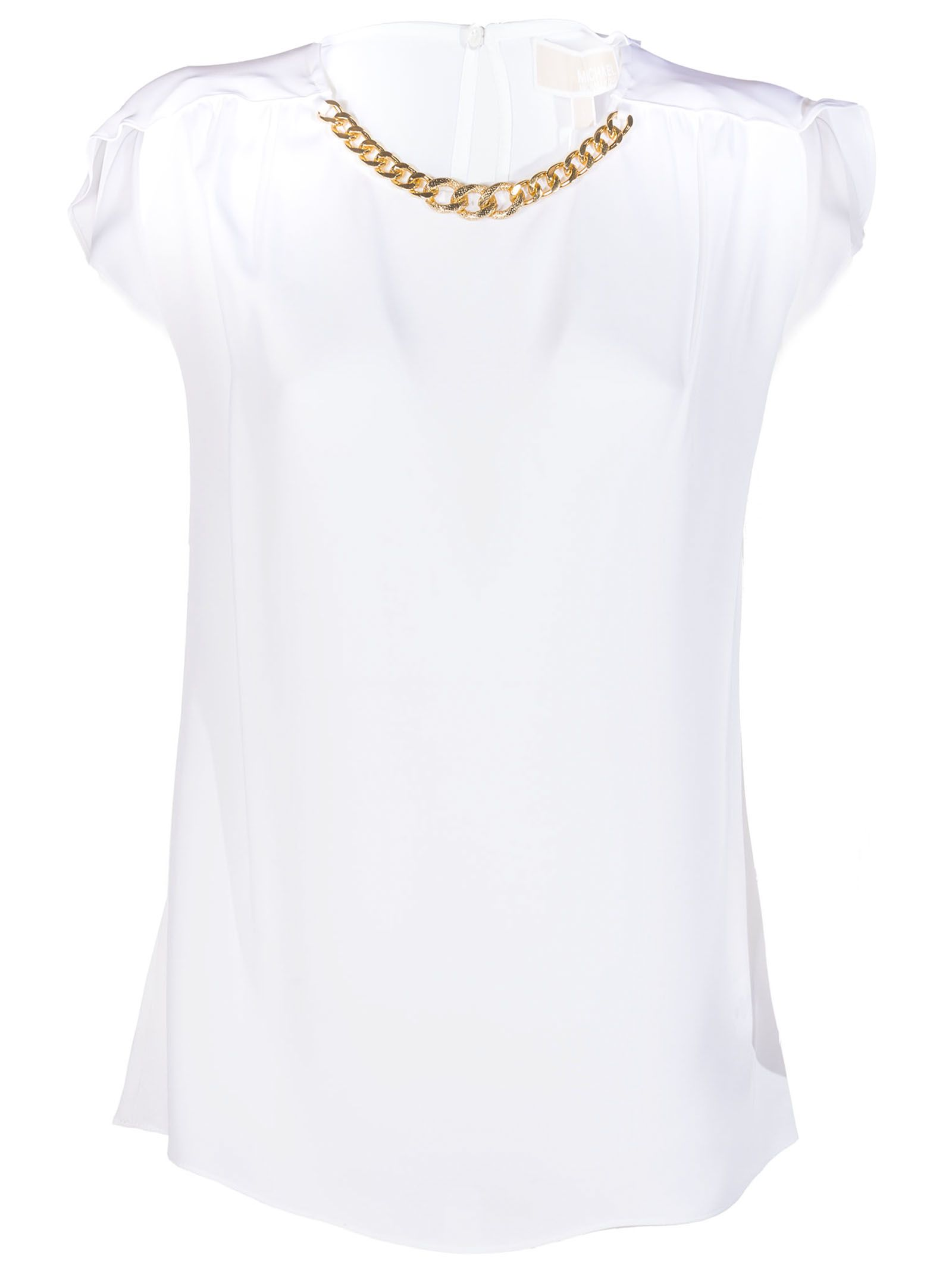 MICHAEL Michael Kors Chain Detail Blouse