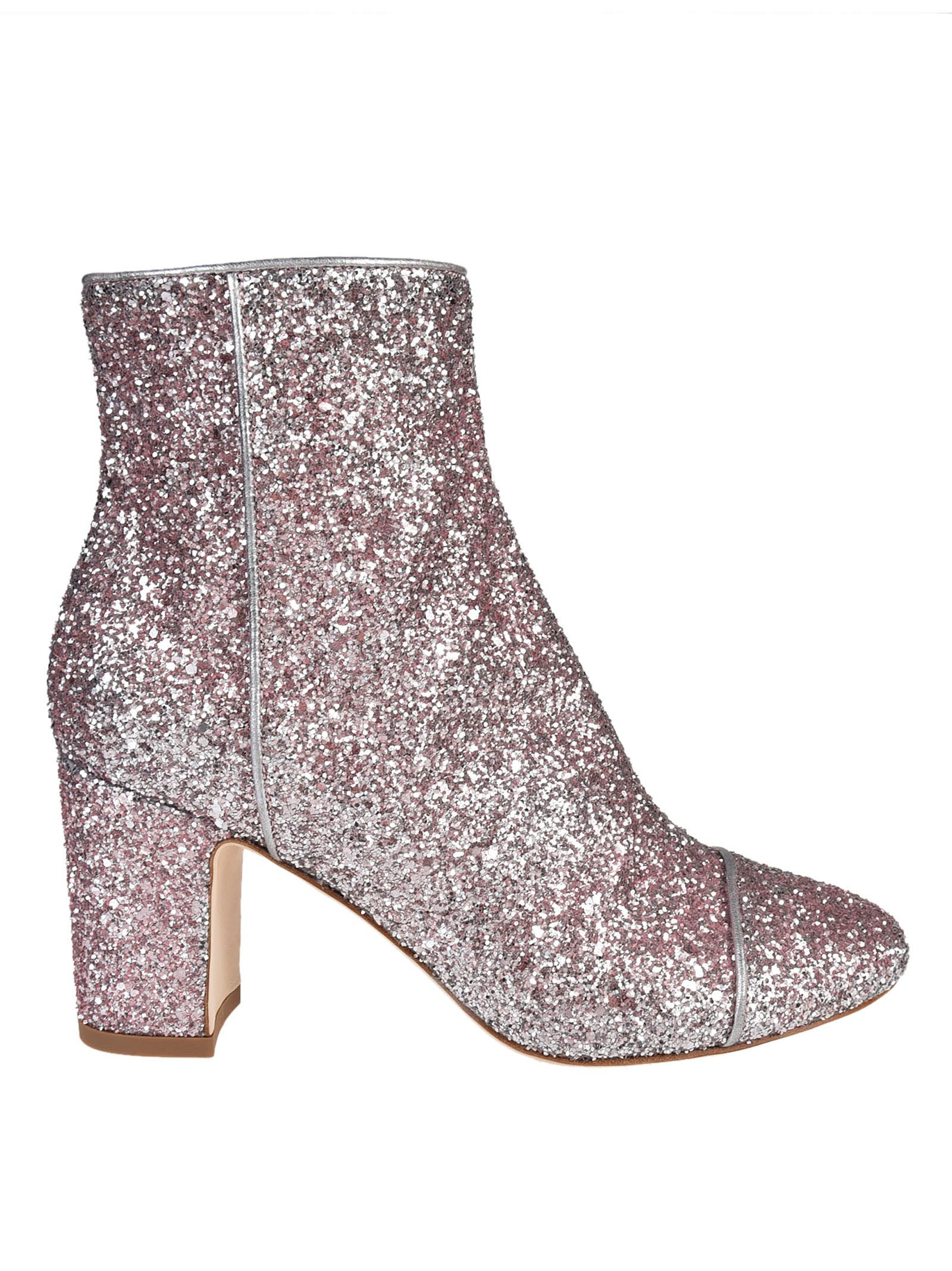 Polly Plume Ally Sparkling Ankle Boots