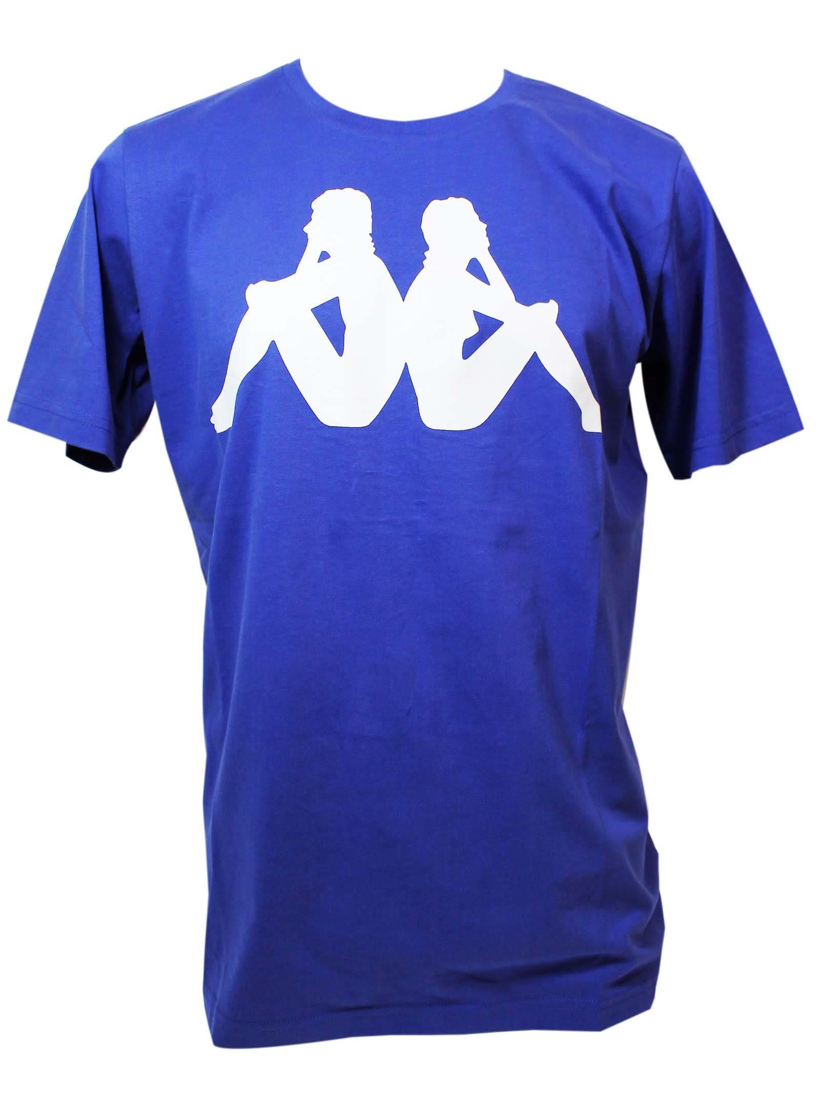 Kappa Royal Blue L.a. Medal T-shirt