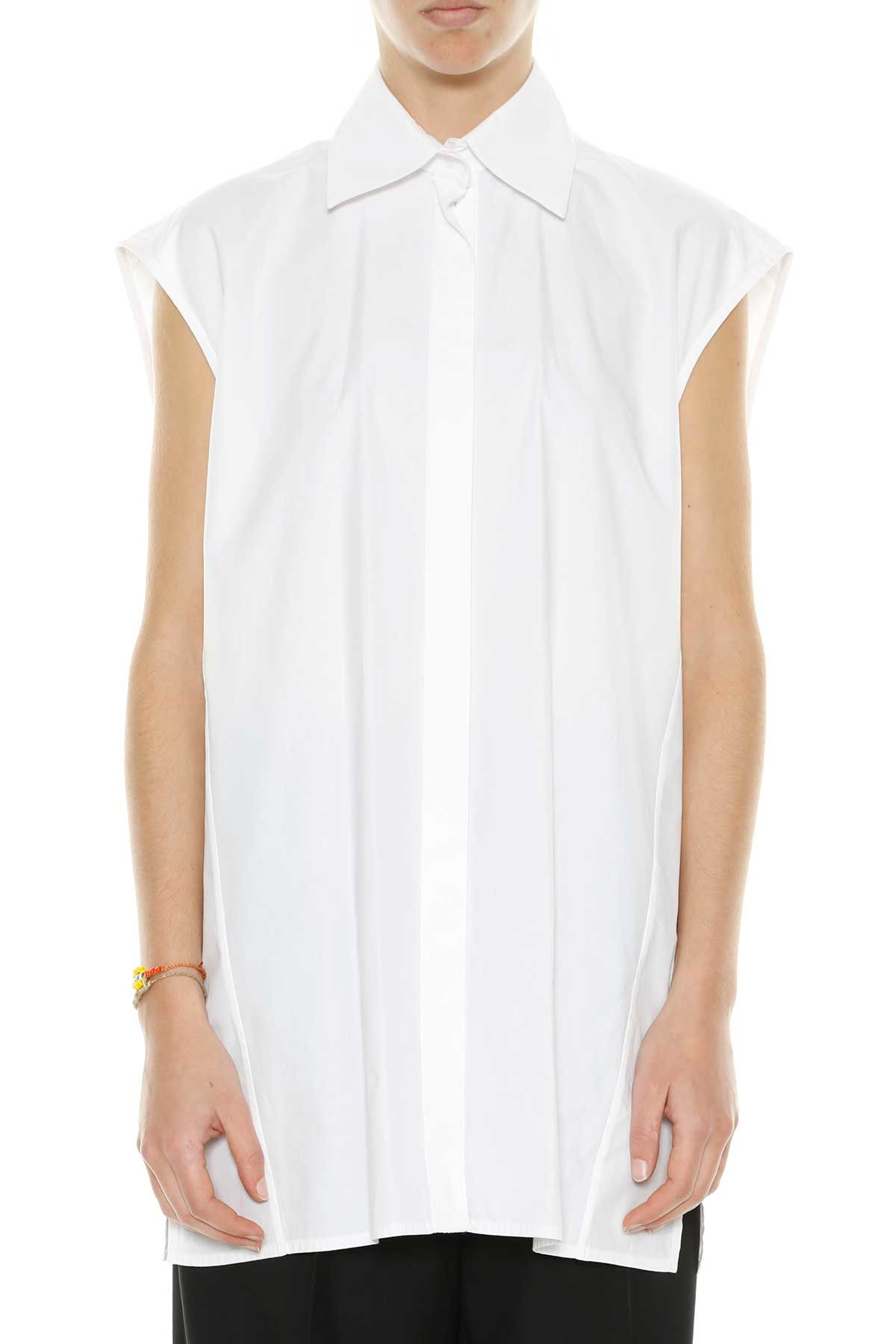 Celine Fluid Cotton Shirt