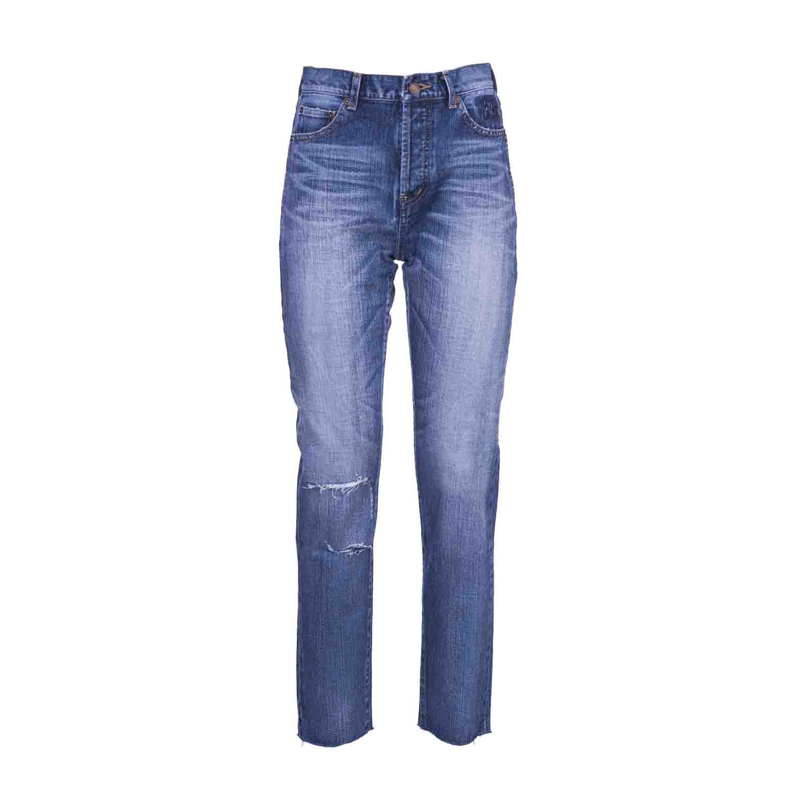 Saint Laurent Paris Slim Fit Jeans