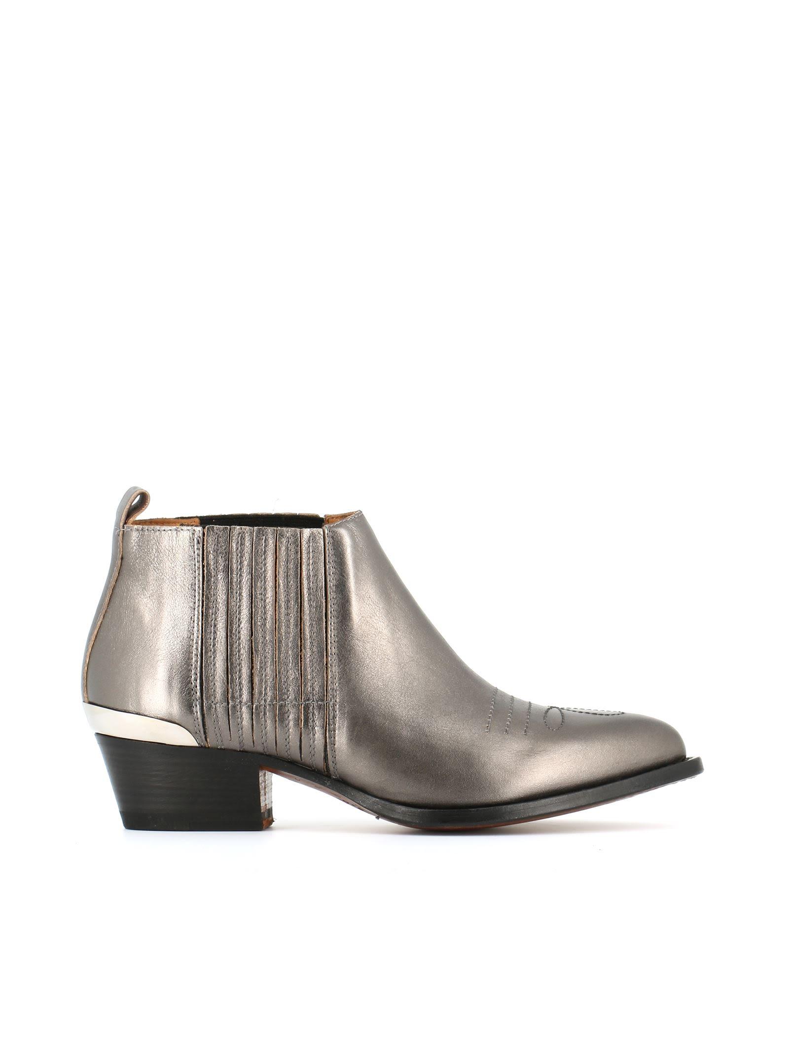 buttero buttero texan boots silver s boots