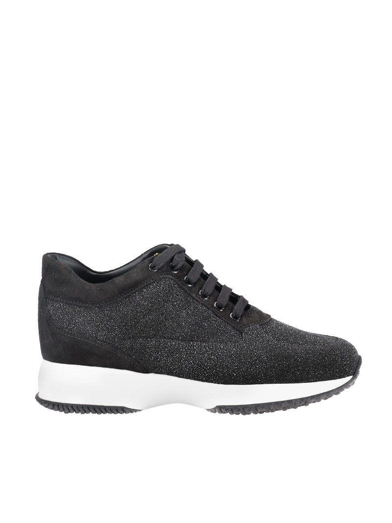 Hogan Glittery Platform Sneakers