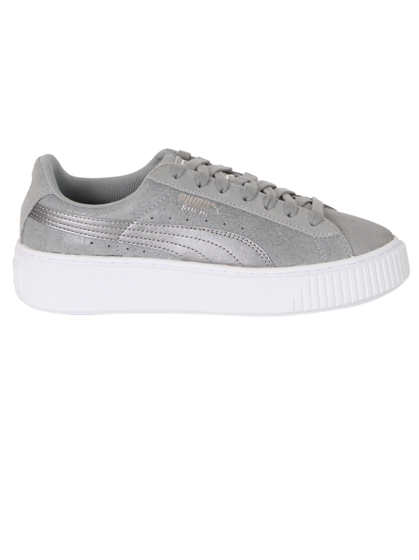 Quarry Suede Platform Sneakers